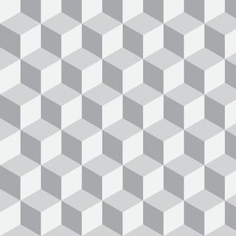 기하학적 벡터 배경 큐브 모양