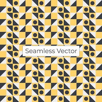 幾何学的なベクトルの繰り返しパターン