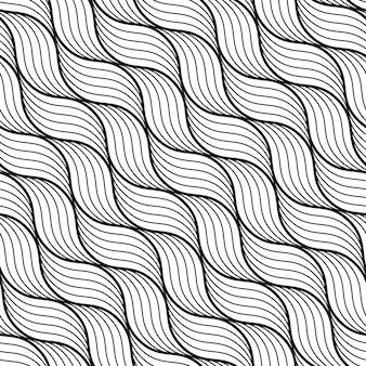 Geometric wave pattern.