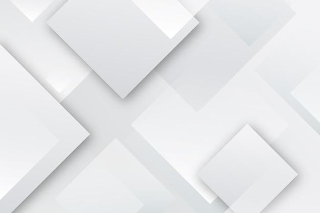 Геометрический белый монохромный фон