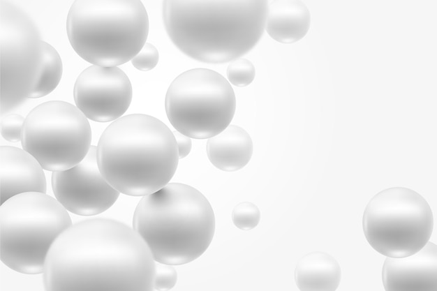 Geometric white monochrome background
