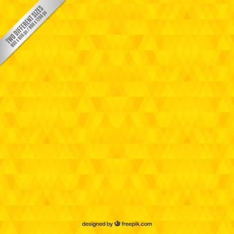 Geometric yellow background