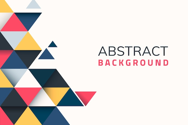 Geometrical abstract background