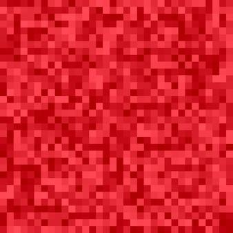 Геометрический абстрактный квадратный мозаичный фон - векторный дизайн из квадратов в красных тонах