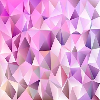 幾何学的な抽象的なタイルの三角形のパターンの背景 - 色の三角形からのベクトルモザイクのデザイン