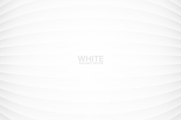 Geometrical abstract white background