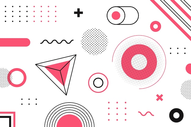 Geometrical background graphic design