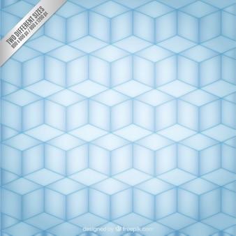 Sfondo geometrico con cubetti