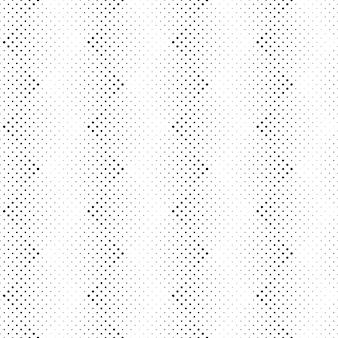 幾何学的な黒と白のドットパターン背景