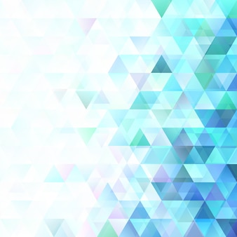 Geometrical gradient regular triangle background