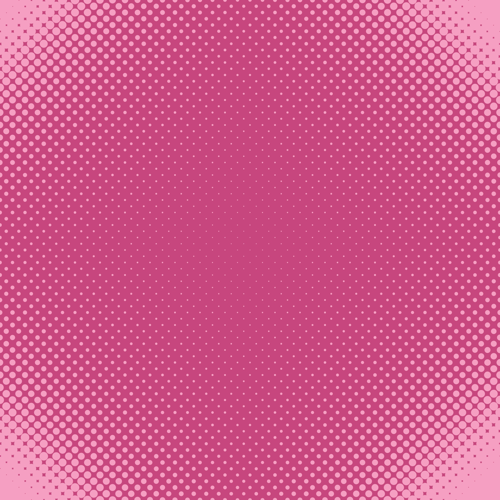 Geometrical halftone dot pattern background - vector graphic from circles in varying sizes