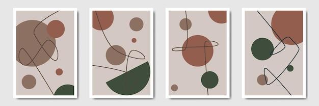 Геометрическая минимальная абстрактная форма фона