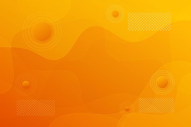 Geometrical monochromatic background in minimal style