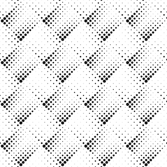 Geometrical monochrome abstract dot seamless pattern