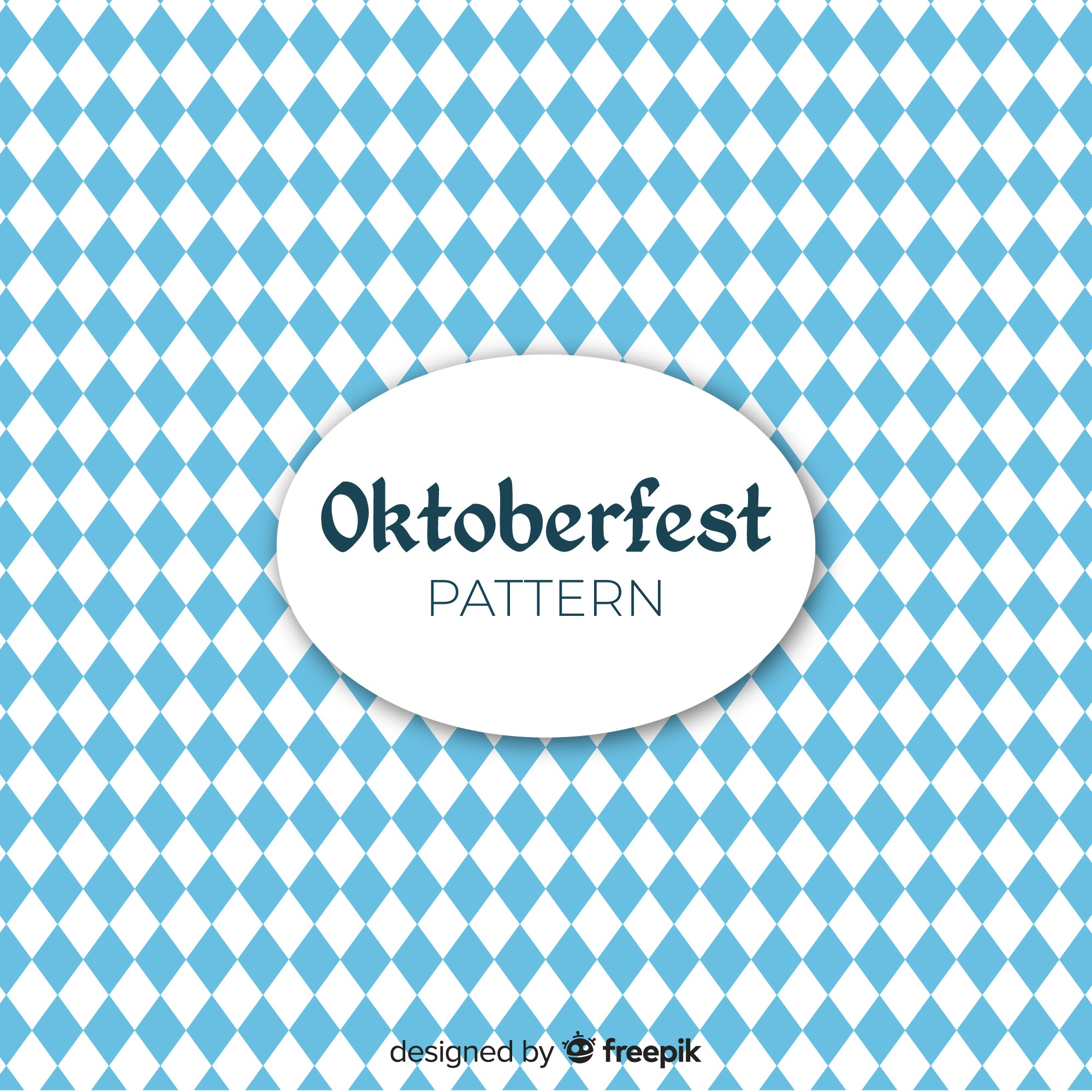 Geometrical oktoberfest concept background