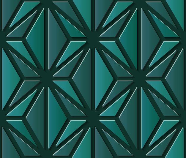 幾何学的な装飾的なシームレスパターン