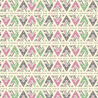 Geometrical pattern in ethnic style