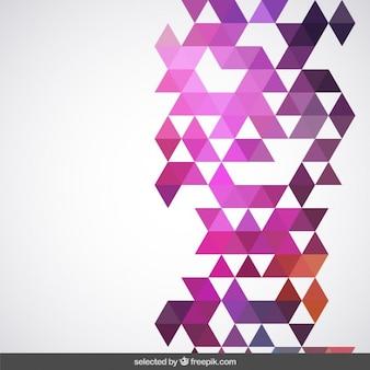 Geometrical pink background