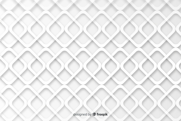 Geometrical shapes in paper style background