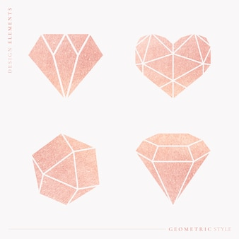 Geometrical shapes set