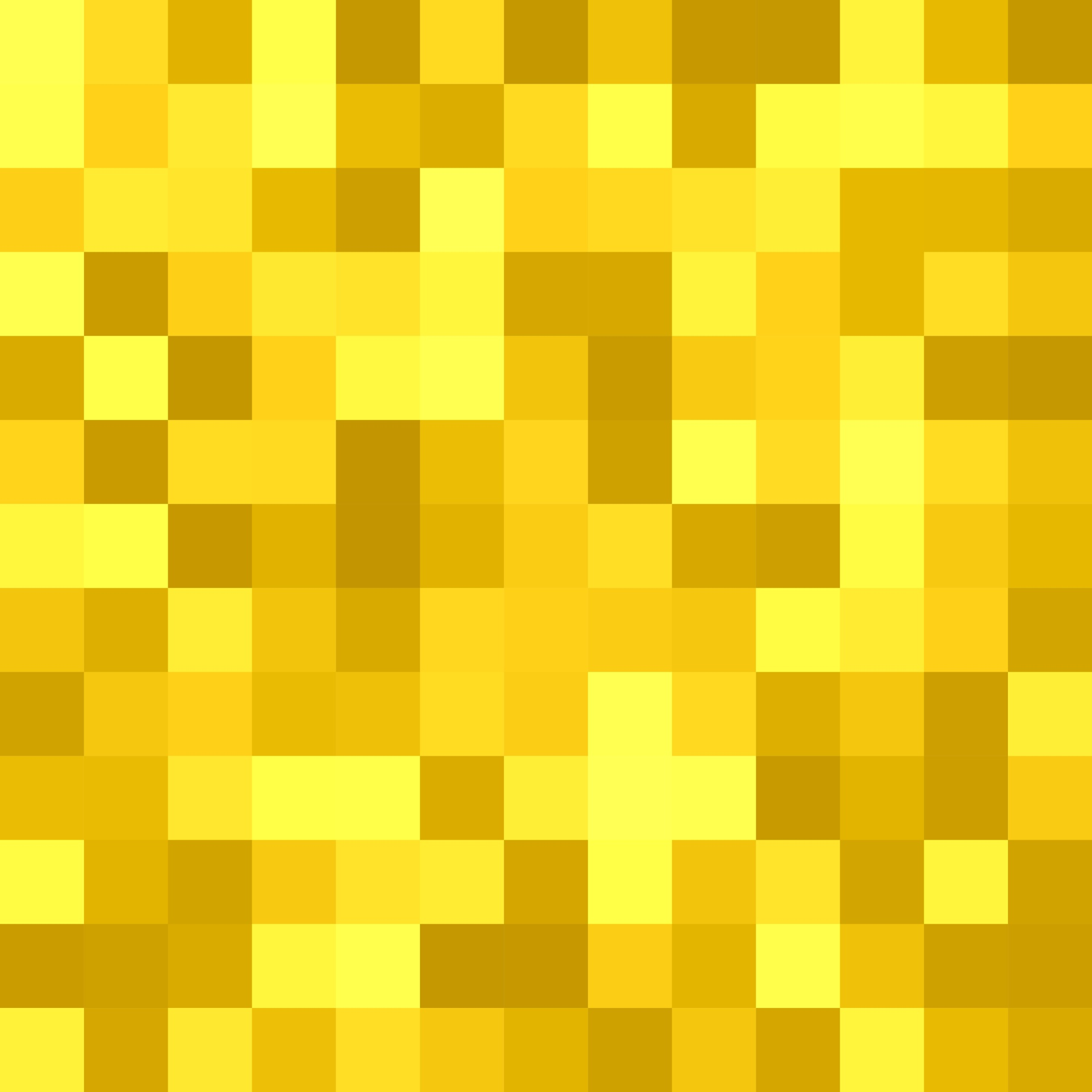 Geometrical square tiled background - vector graphic design from squares in golden tones