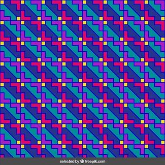 Геометрическая с рисунком контура