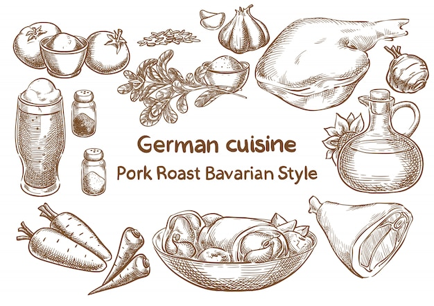 Немецкая кухня.