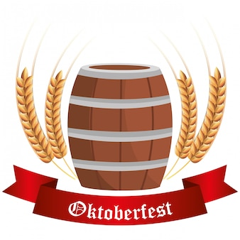 Germany cultures and oktober fest design.