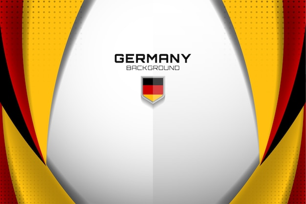 Germany flag concept background