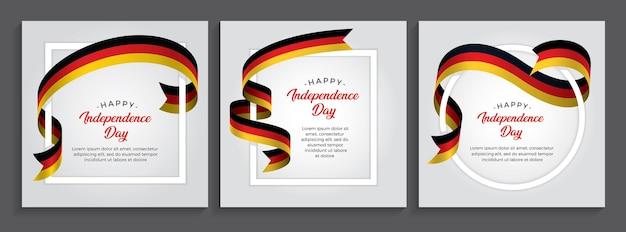 ドイツの旗、イラスト