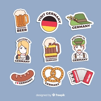 Germany sticker collection