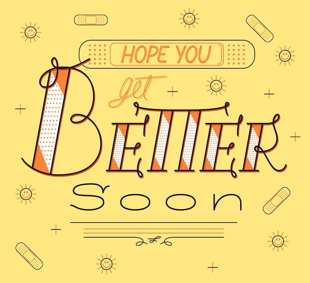 Get better soon