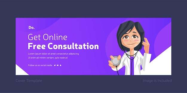 Get online free consultation cover page design