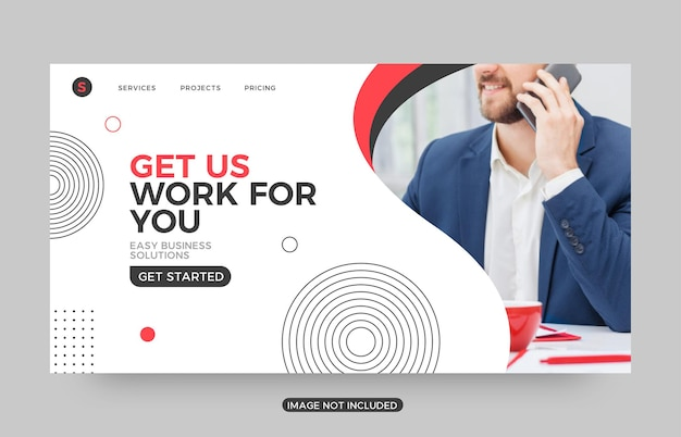 Get us work шаблоны посадочных страниц для бизнеса