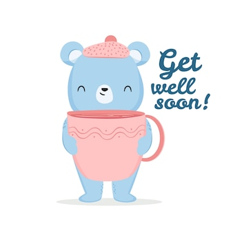 Get well soon motivational messaje