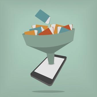 Ottenere i libri in un telefono