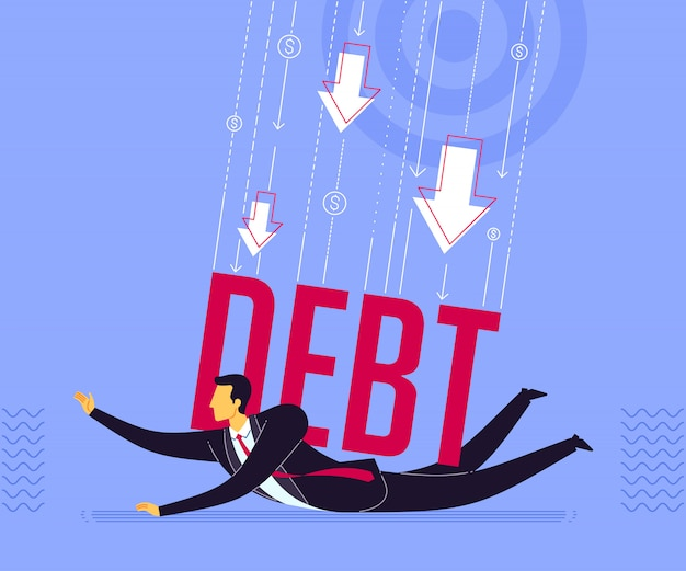 Getting pressed by debt