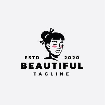 Gheisa women logo design