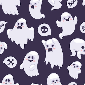 Ghost  characters pattern