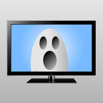 テレビ画面のゴースト