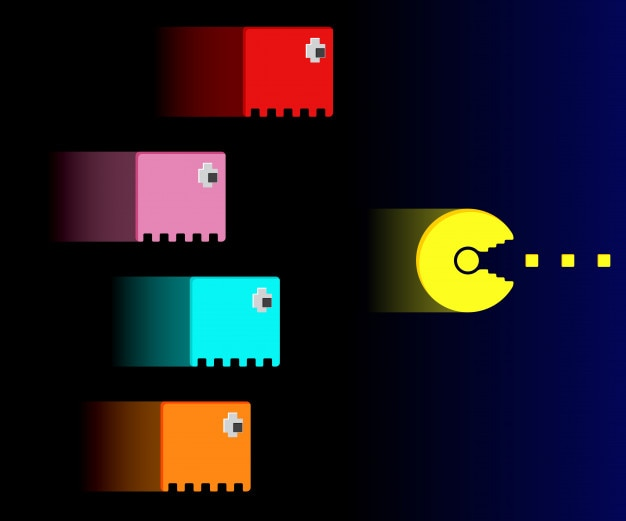 Pacman Vectors, Photos and PSD files | Free Download