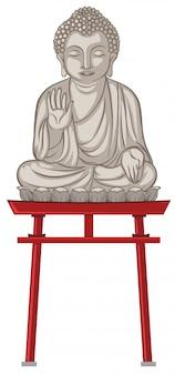 Статуя гигантского будды в японии