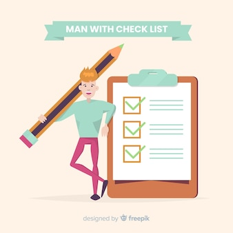 Giant check list