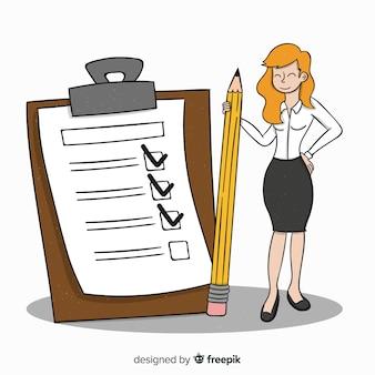 Giant checklist