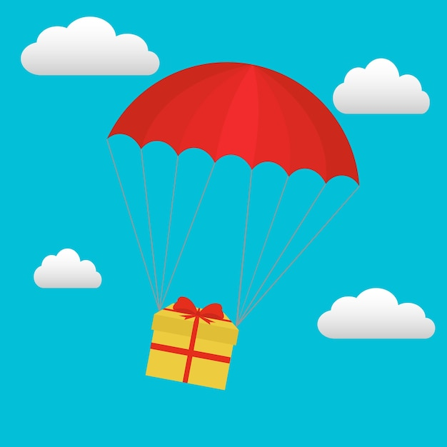 parachute vectors photos and psd files free download rh freepik com parachute vector free parachute vector free
