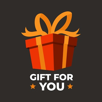 Gift box birthday celebrate boxing day big sale concept