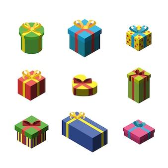 Подарочная коробка разных размеров