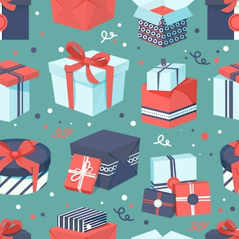 Sfondo del modello di regalo