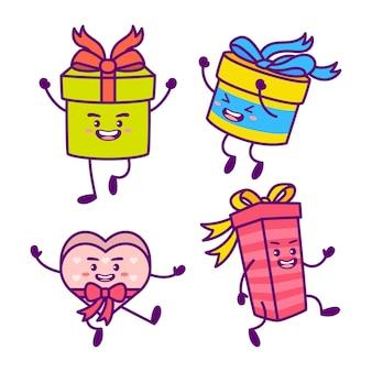 Подарочные коробки мультфильм