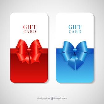 Gift cards pack